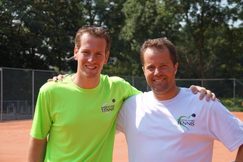 Wilco en Lawrence Groene Hart Tennis